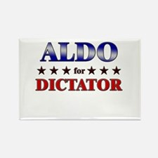 ALDO for dictator Rectangle Magnet