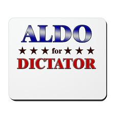 ALDO for dictator Mousepad
