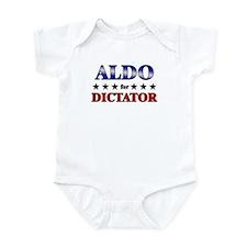 ALDO for dictator Infant Bodysuit