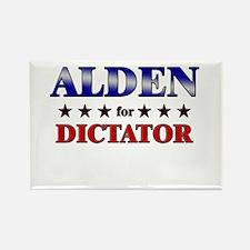 ALDEN for dictator Rectangle Magnet