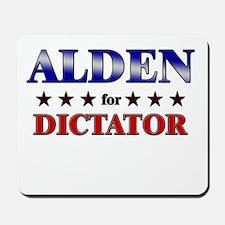 ALDEN for dictator Mousepad