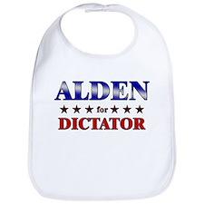 ALDEN for dictator Bib