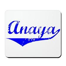 Anaya Vintage (Blue) Mousepad