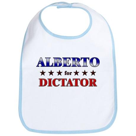 ALBERTO for dictator Bib
