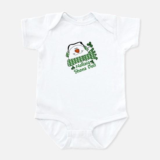 Nollaig Shona Duit Irish Chri Infant Bodysuit