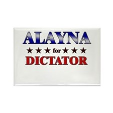 ALAYNA for dictator Rectangle Magnet