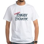 Rugby Fanatic White T-Shirt