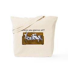 NH Where RU Gonna Sit? Tote Bag