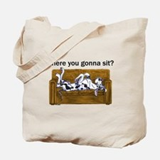 NH Where RU Gonna Sit? Tote Bag