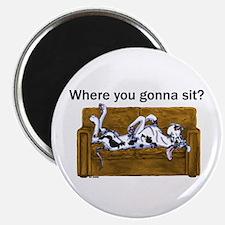NH Where RU Gonna Sit? Magnet