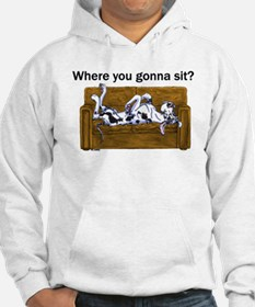 NH Where RU Gonna Sit? Hoodie Sweatshirt