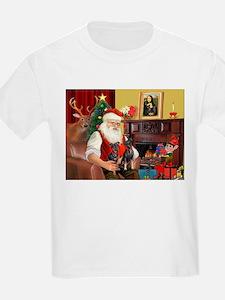 Santa's 2 Mun Pinschers T-Shirt