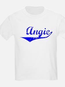 Angie Vintage (Blue) T-Shirt