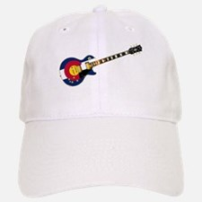Colorado Flag Guitar Baseball Baseball Cap