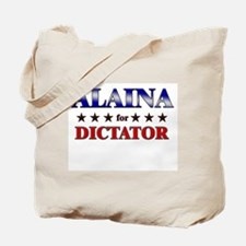 ALAINA for dictator Tote Bag