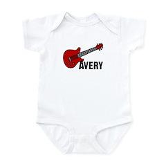 Guitar - Avery Infant Bodysuit
