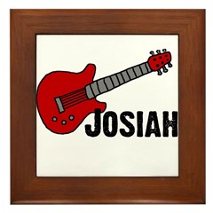 Guitar - Josiah Framed Tile
