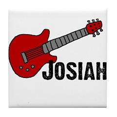 Guitar - Josiah Tile Coaster