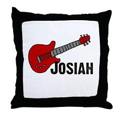 Guitar - Josiah Throw Pillow