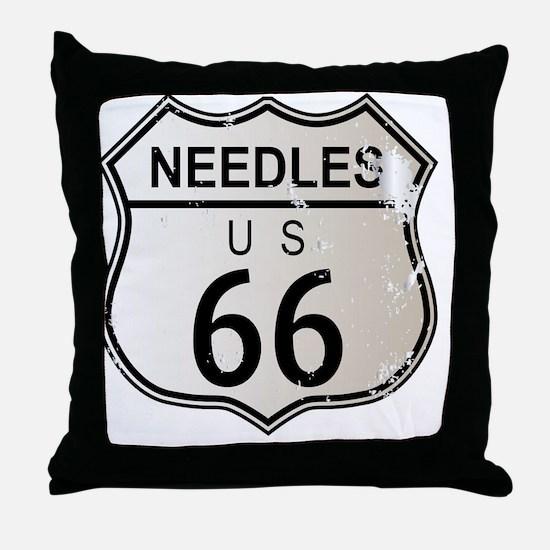 Cute Needles Throw Pillow