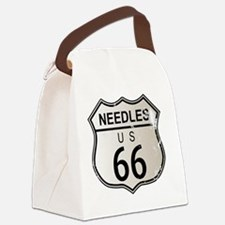 Funny Needles Canvas Lunch Bag