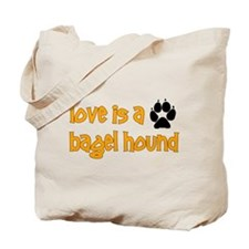 Love is a Bagel Tote Bag
