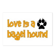 Love is a Bagel Postcards (Package of 8)