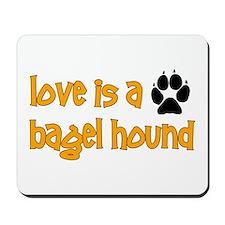 Love is a Bagel Mousepad
