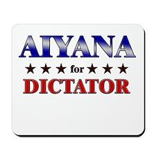 AIYANA for dictator Mousepad
