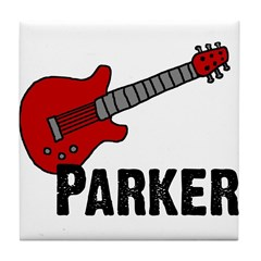 Guitar - Parker Tile Coaster