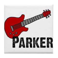Guitar - Parker Tile Coaster