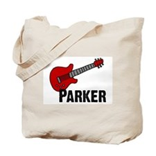 Guitar - Parker Tote Bag