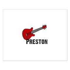 Guitar - Preston Posters