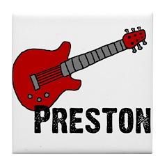 Guitar - Preston Tile Coaster