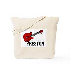 Guitar - Preston Tote Bag