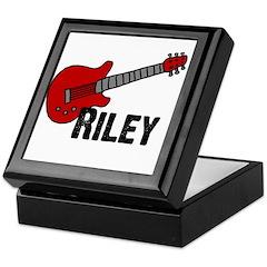 Guitar - Riley Keepsake Box