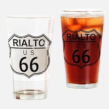 Unique Route 66 rialto Drinking Glass