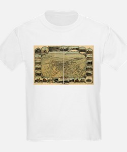 Bakersfield old map T-Shirt
