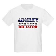 AINSLEY for dictator T-Shirt