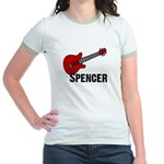 Guitar - Spencer Jr. Ringer T-Shirt