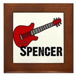 Guitar - Spencer Framed Tile