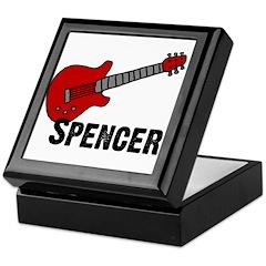 Guitar - Spencer Keepsake Box