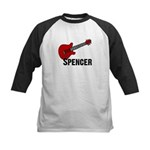 Guitar - Spencer Kids Baseball Jersey