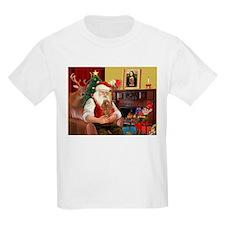 Santa's Toy Poodle (a) T-Shirt