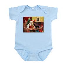 Santa's Toy Poodle (a) Infant Bodysuit