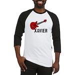 Guitar - Xavier Baseball Jersey