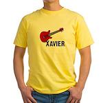 Guitar - Xavier Yellow T-Shirt