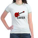 Guitar - Xavier Jr. Ringer T-Shirt