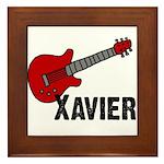 Guitar - Xavier Framed Tile
