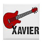 Guitar - Xavier Tile Coaster